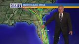 Latest models show Hurricane Irma's impact on Middle Tennessee