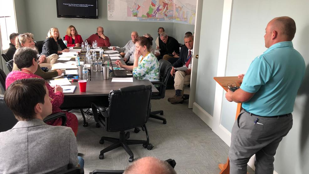 Myrtle Beach leaders consider splitting CBD, vape issues