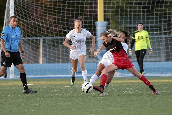 North Medford at South Medford, Girls Varsity Soccer. [ // PHOTOS BY: LARRY STAUTH JR]