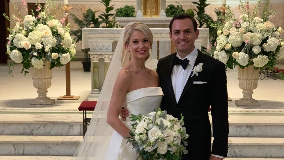 Rep. Gallagher gets married in Green Bay