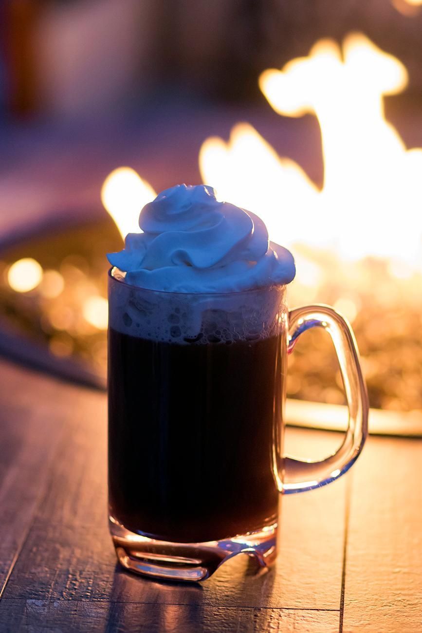 Spiked Hot Cocoa: rum and butterscotch schnapps / Image: Allison McAdams // Published: 12.17.18