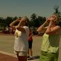Thousands attend Francis Marion University eclipse viewing party