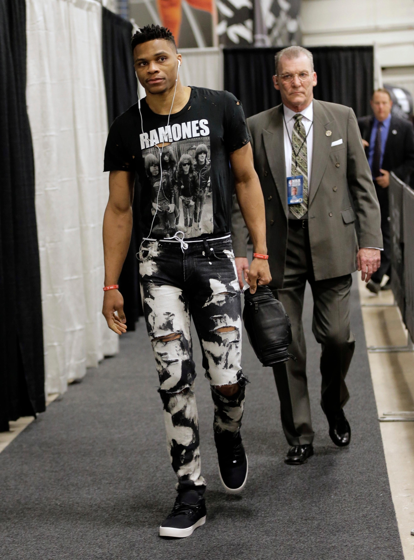 Nba 39 S King Of Fashion Russell Westbrook Talks Style Kokh