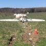 Plane carrying two adults, two children crashes in Mason County