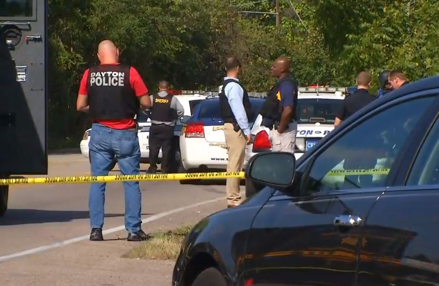 Multiple agencies including SWAT are on the scene in Trotwood after a man was reportedly shooting from a home. (WKEF/WRGT)