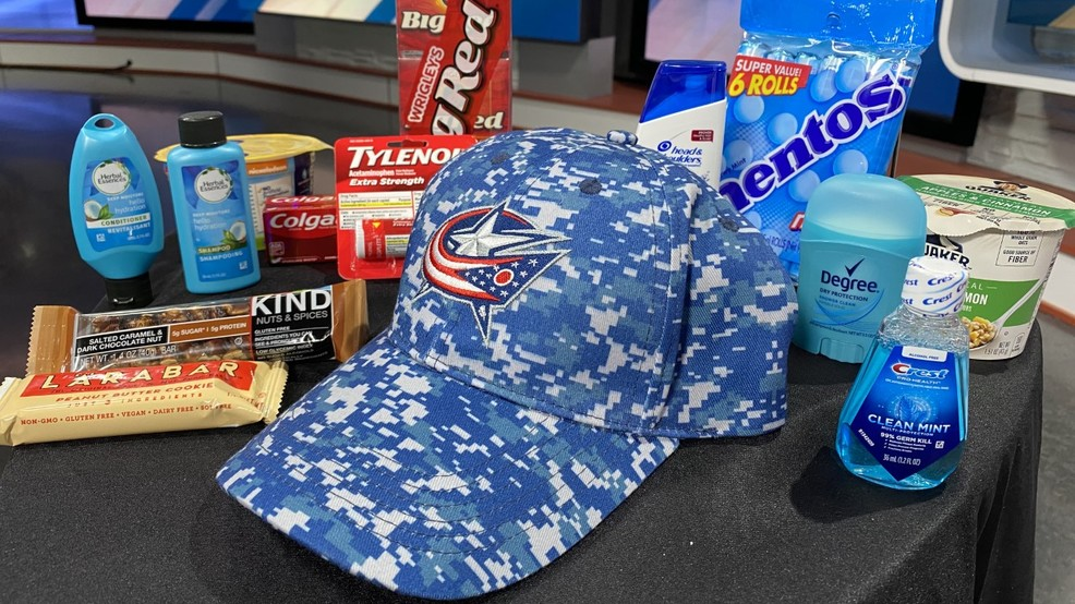 45,000 items donated during Columbus Blue Jackets' Military Appreciation Night
