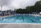 The new 50-meter swimming pool at Erb Park in Appleton is ready for visitors July 12, 2017.