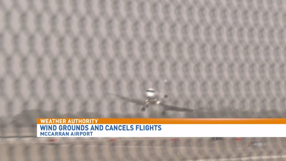 High winds cause close calls and cancelled flights at