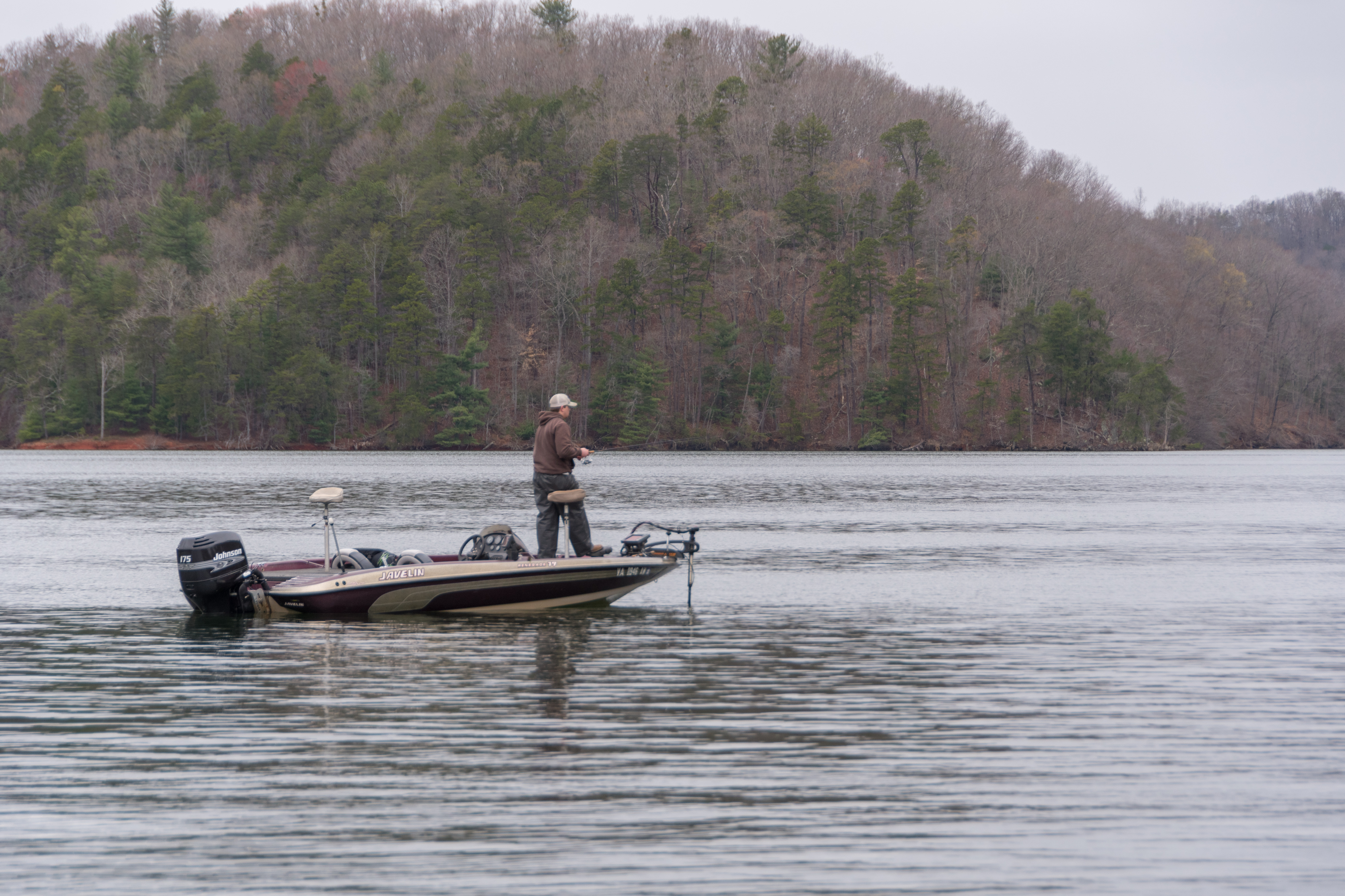 Fishing on Philpott Lake.  Franklin County Tourism (Image: Jean Skipper)