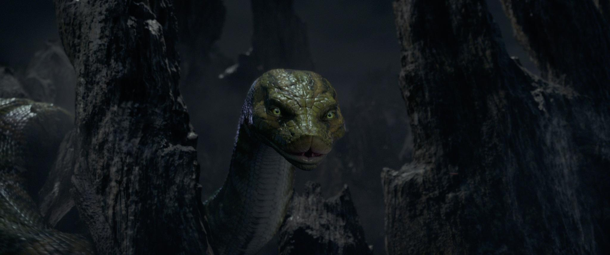 "Kaa in the Netflix film ""Mowgli: Legend of the Jungle"""