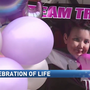 Community celebrates Saginaw girl who battled brain cancer