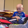 Boy battling cancer in Seattle surprised with Christmas cards
