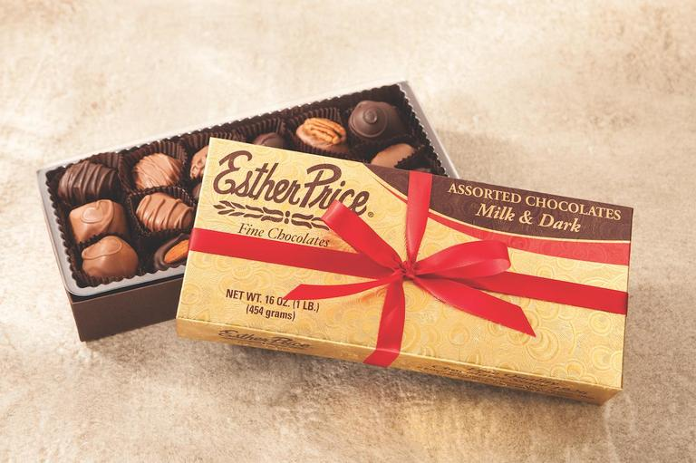 Esther Price Candies is a Dayton-based family company with 90 years in operation and a sweet legacy to match its chocolate. / Image courtesy of Esther Price Candies // Published: 12.2.17