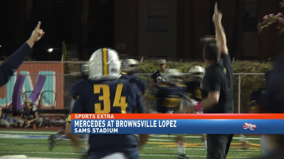 Brownsville Lopez Creates 3-Way Tie Atop 32-5A By Downing Mercedes