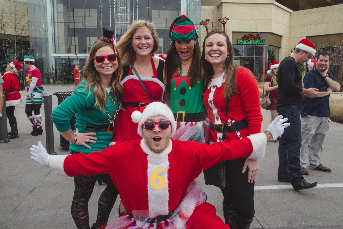 #6 - Santacon (a day filled with drinking and debauchery) returns on Saturday, Dec. 10 in Downtown/OTR. / Image: Catherine Viox