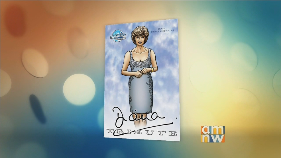 Local Comic Book Company Honors Princess Diana on the Anniversary of Her Death