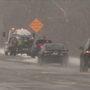 First snowfall of the year causes significant number of crashes and slide-offs