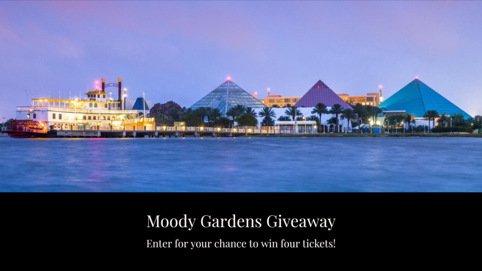Moody Gardens Giveaway | Watch Daytime