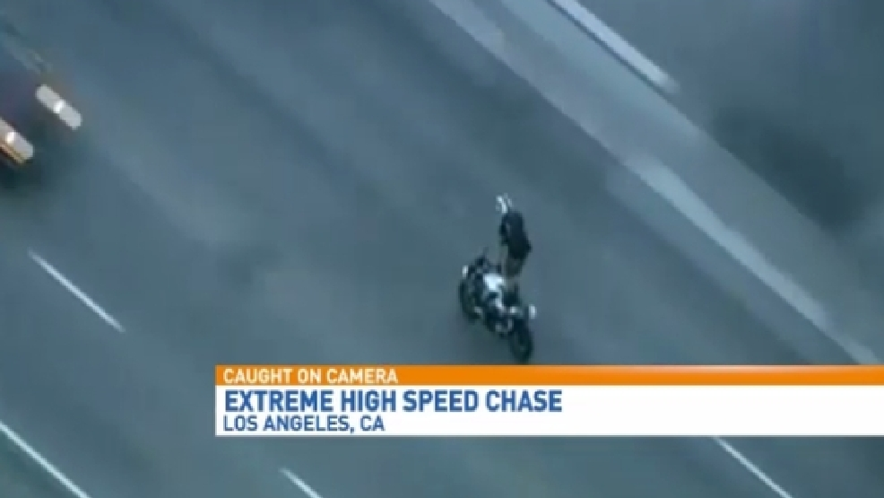 Extreme Chase in Los Angeles Caught on Video | WZTV
