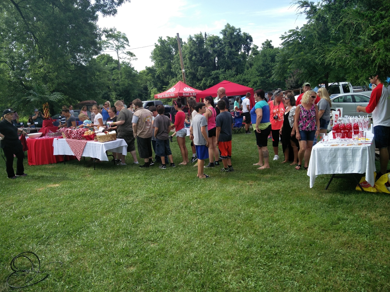 "Bob Herzog was live Tuesday, July 12, in Stonelick Township for ""Grillin' For Tim"". (WKRC)"