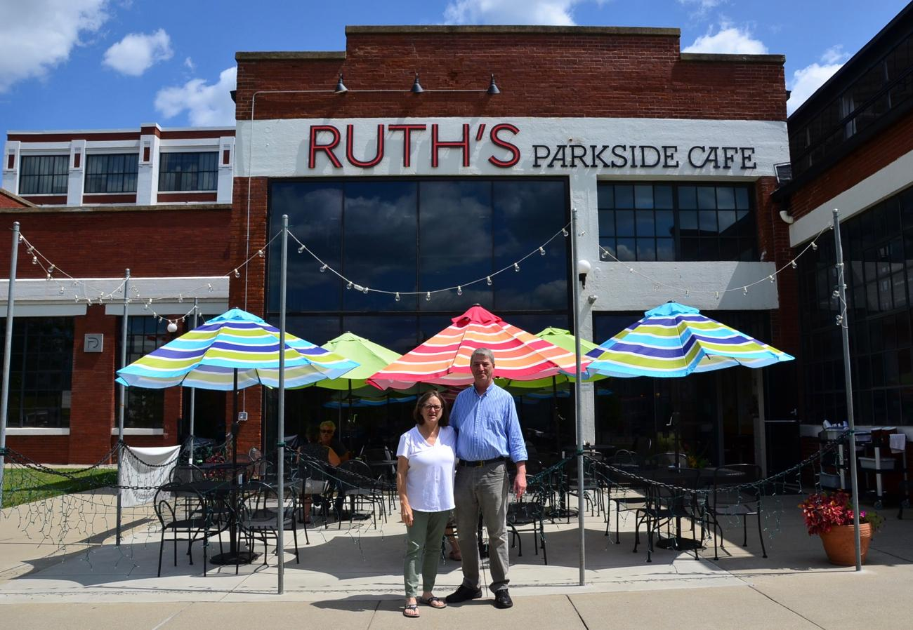 Mary Kroner and David Tape, owners of Ruth's Parkside Cafe / Image: Leah Zipperstein, Cincinnati Refined // Published: 9.4.17
