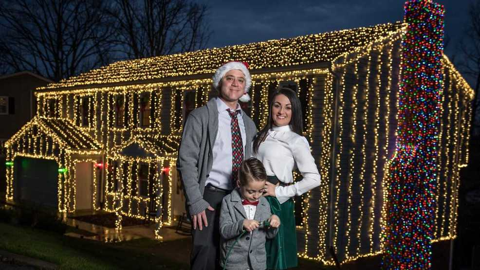 charleston family decks out home with more than 25000 christmas lights