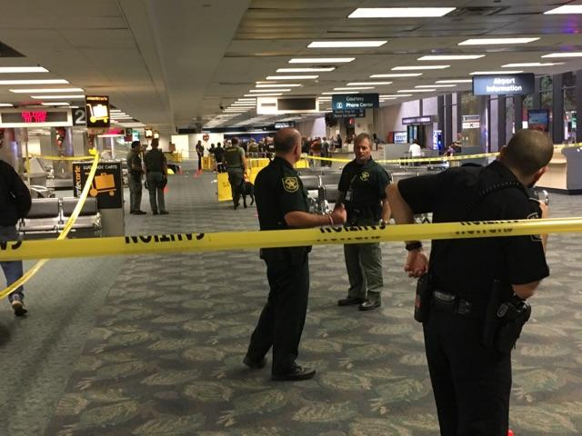 Fox 42 has learned that a Council Bluffs, Iowa couple was shot at Fort Lauderdale-Hollywood International Airport in Florida on Friday, Jan. 6, 2017. (Courtesy Mark Lea)