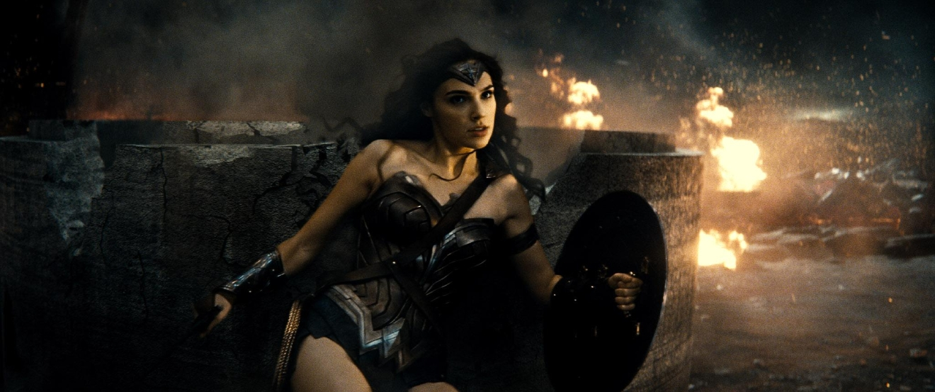 "Caption: GAL GADOT as Wonder Woman in Warner Bros. Pictures' action adventure ""BATMAN v SUPERMAN: DAWN OF JUSTICE,"" a Warner Bros. Pictures release.  Copyright: © 2016 WARNER BROS. ENTERTAINMENT INC., RATPAC-DUNE ENTERTAINMENT LLC AND RATPAC ENTERTAINMENT, LLC  Photo Credit: Courtesy of Warner Bros. Pictures/ TM & © DC Comics"