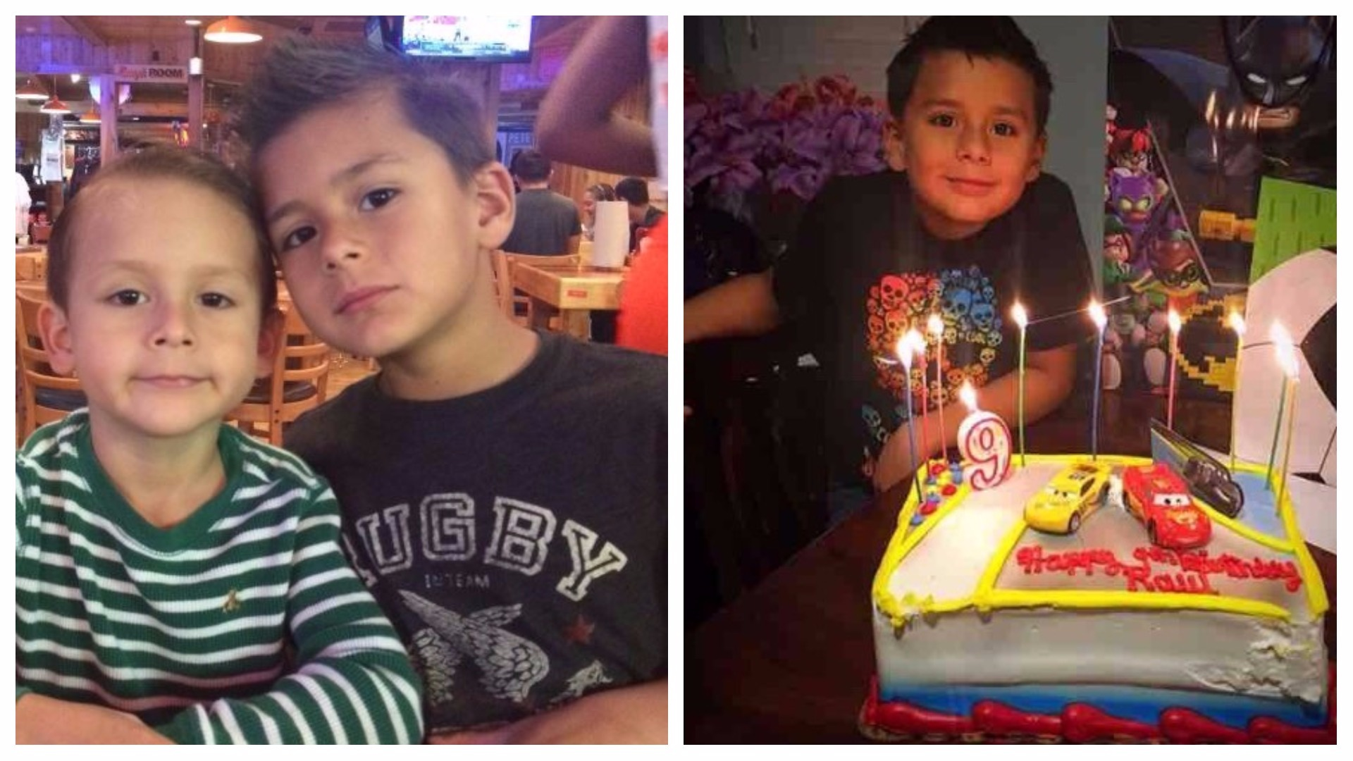 The family of Raul Gamboa, a 9-year old boy who died in a crash Monday morning in the southeast Las Vegas valley, remember him as special child who made everyone smile. (Photos provided)