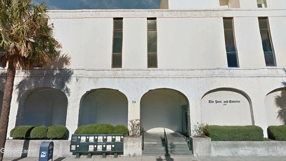 The Post and Courier, Columbus Street, Charleston, SC (Google Earth).jpg