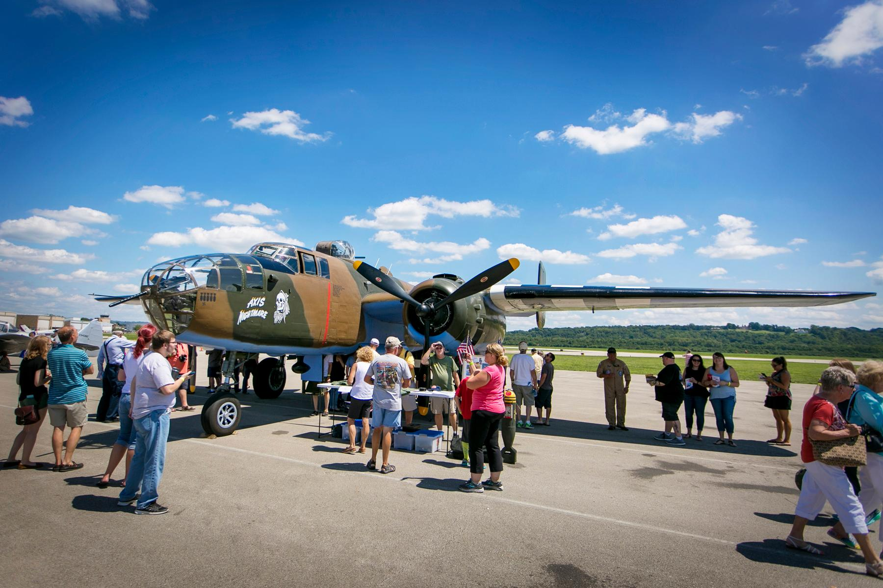Cincinnati Museum Center held its annual 1940s Day celebration on Saturday, August 12 at Lunken Airport. The day included live music, swing dancing, vintage airplanes, war veterans, and plenty of other highlights. / Image: Mike Bresnen Photography // Published: 8.13.17