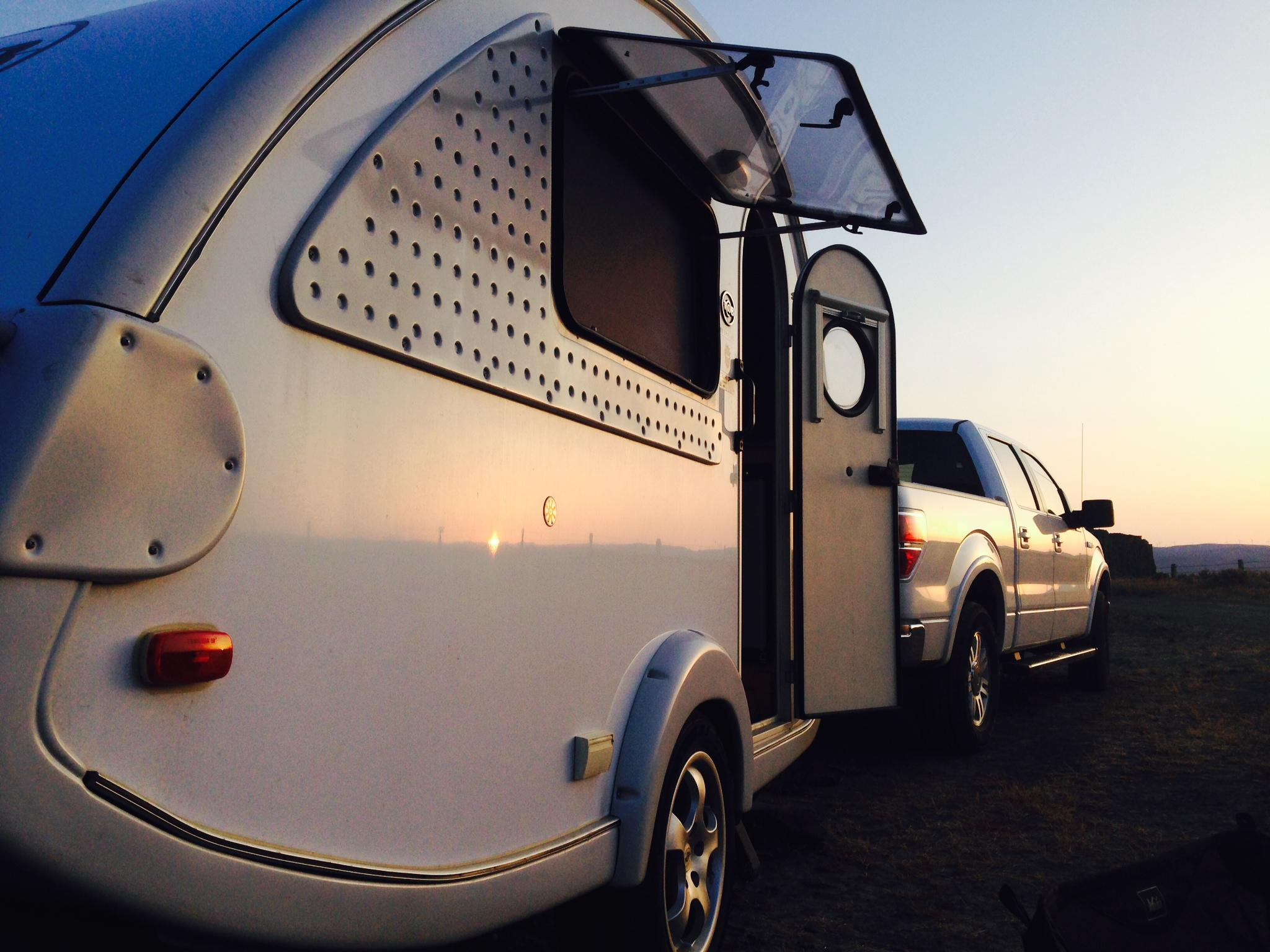 Traveling by teardrop allows you to enjoy outdoor adventure without having to sacrifice comfort.
