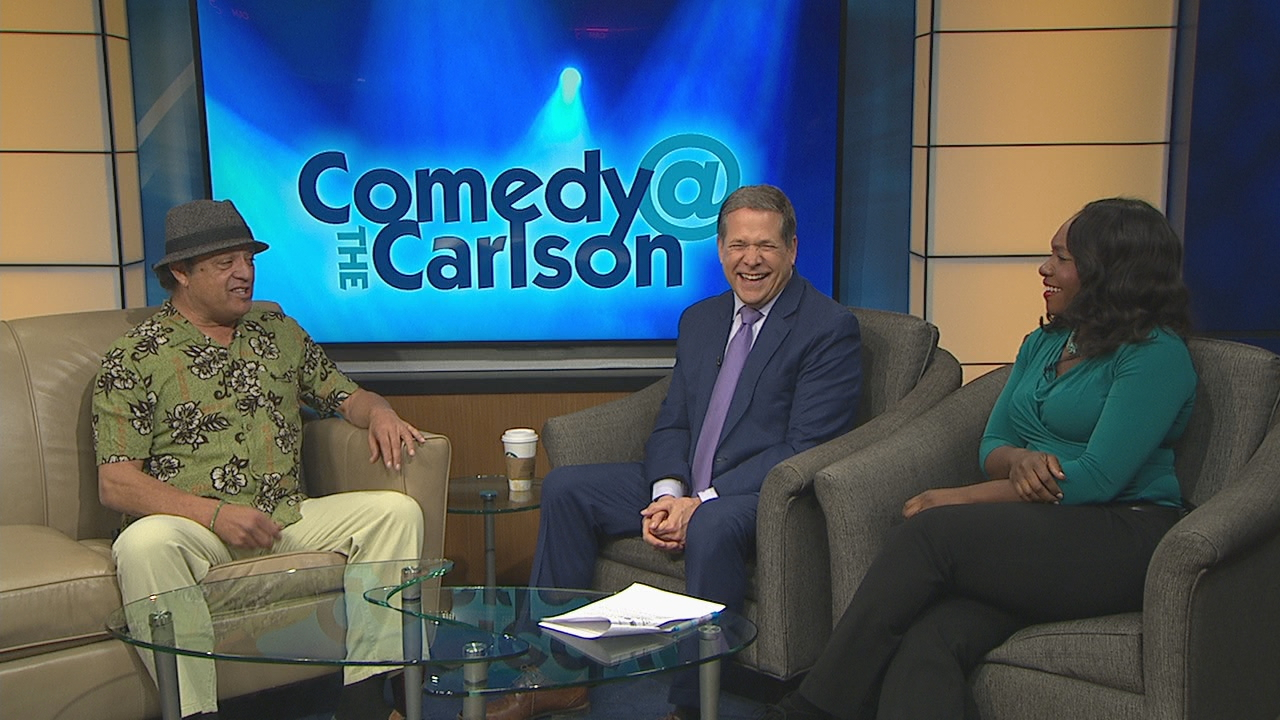 Comedian Paul Rodriguez mixed anecdotes and jokes on the set of Good Day Rochester Friday.<p></p>
