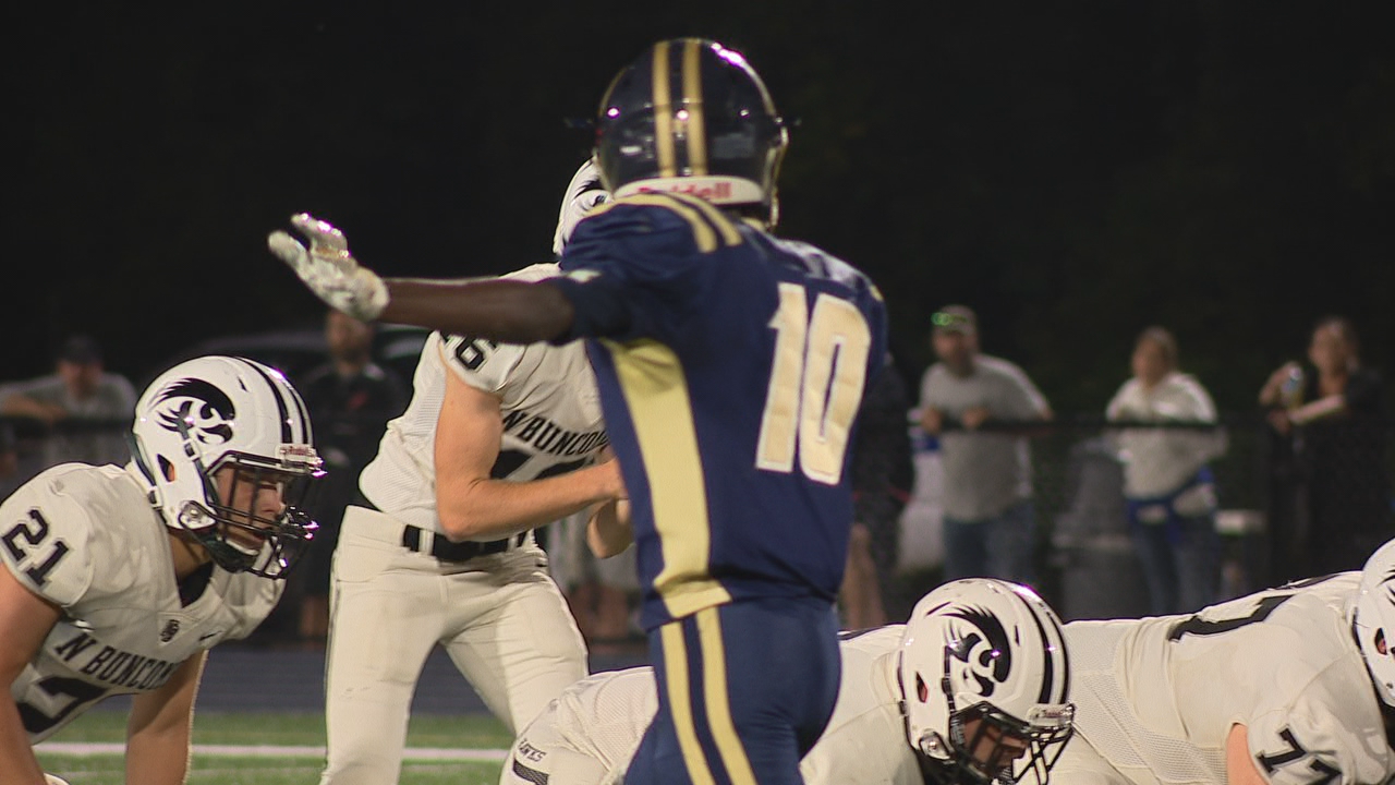North Buncombe vs. Roberson, 09-20-19<br>Photo credit: WLOS Staff
