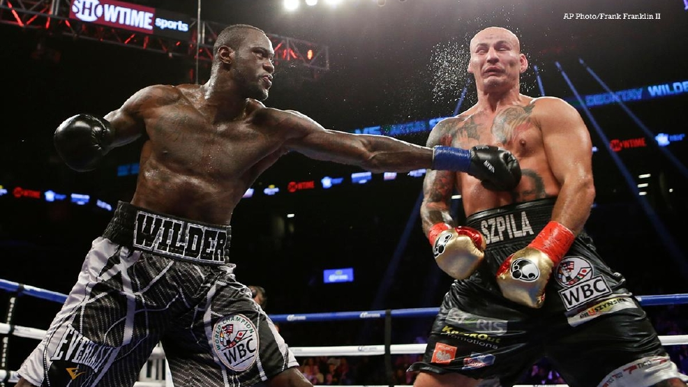 VIDEO Deontay Wilder Turns The Lights Out On Artur