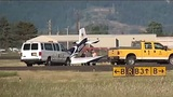 Small plane 'bounced upon landing' near Eugene airport runway