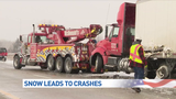 All lanes re-opened: 32-car pileup closes westbound I-94 in Van Buren County