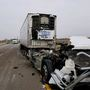 I-80 lanes open after two semitrailers crash