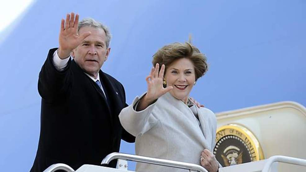 Are not George w and laura bush the
