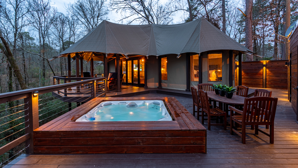 African tent vacation rental opens in Hot Springs