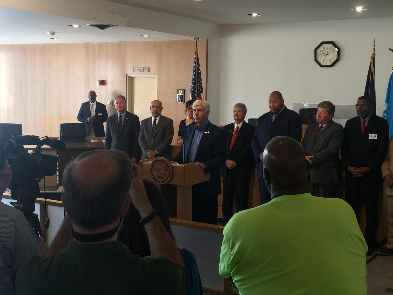 The Flint City Council is also supporting this move. (Mike Horne - NBC25/FOX66 News)
