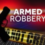 Armed robbery at dry cleaning company