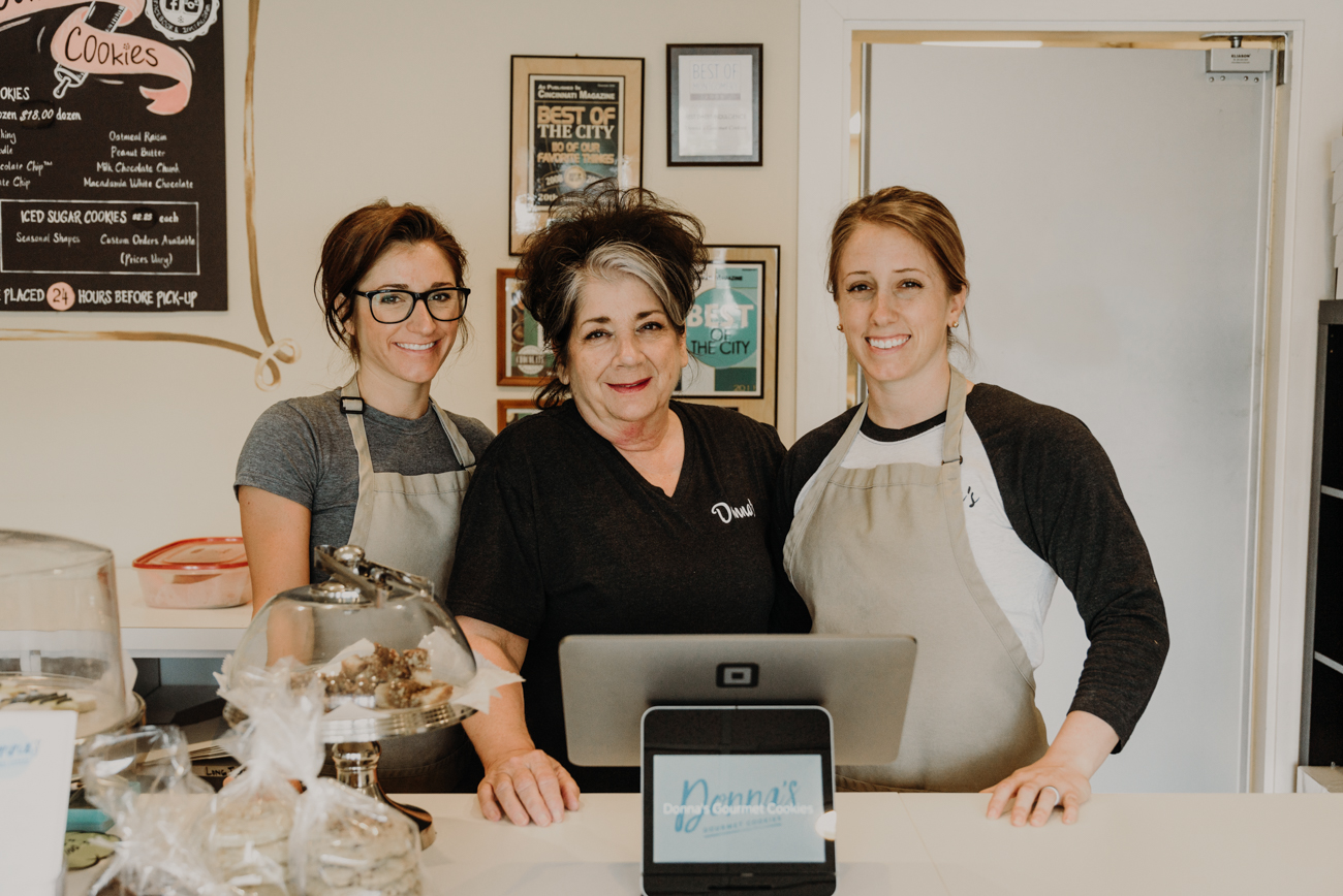Gina Klein, Donna Phelps (owner), and Sara Menendez / Image: Brianna Long  // Published: 8.24.18