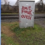 Graffiti mocking Anne Frank hits Ashland